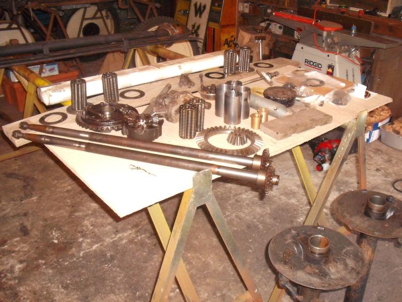 rebuilding a model t differential