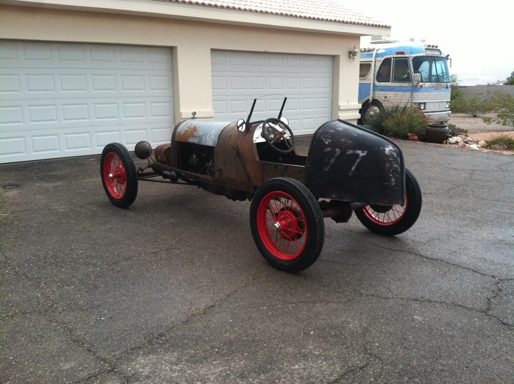 Model T Ford Forum: RACE CAR FOUND .. Need Help identifying this car.