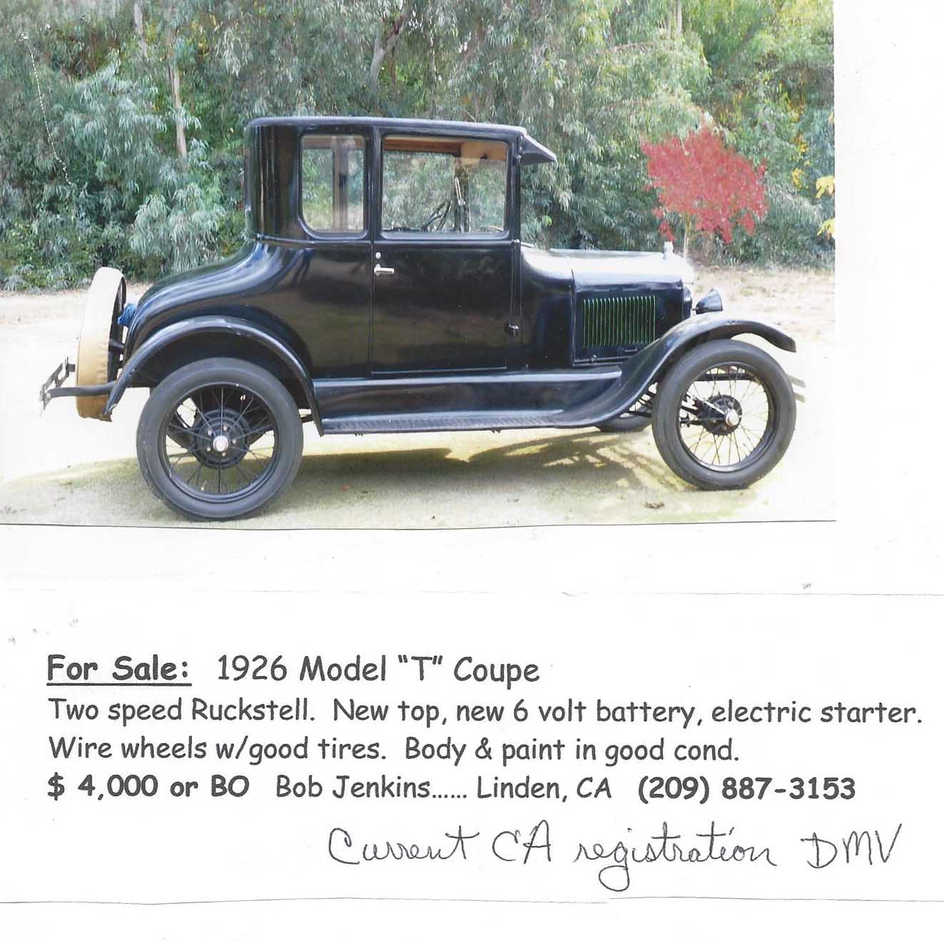 Model T Ford Forum: They are still out there - this one won\'t last
