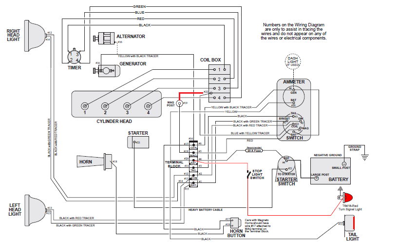 model t ford forum: please - someone post a picture of a ... ford model a wiring schematic #12