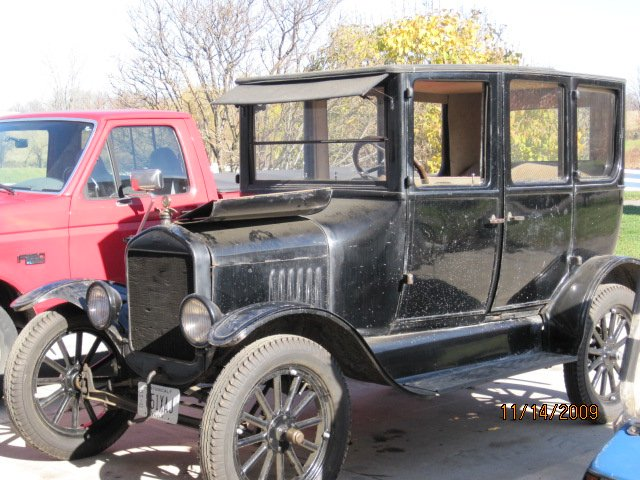 26 ford fourdoor