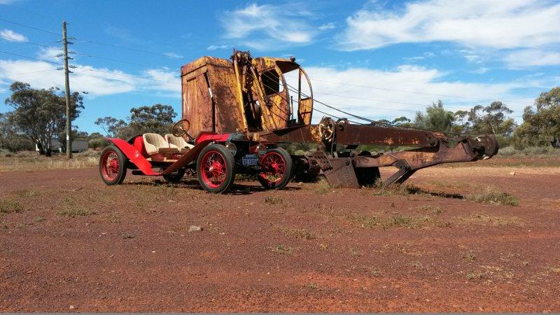 1914 Speedster (2014 Lake Perkolili Western Australia)