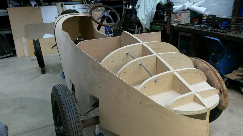 1919 Mercury body progress