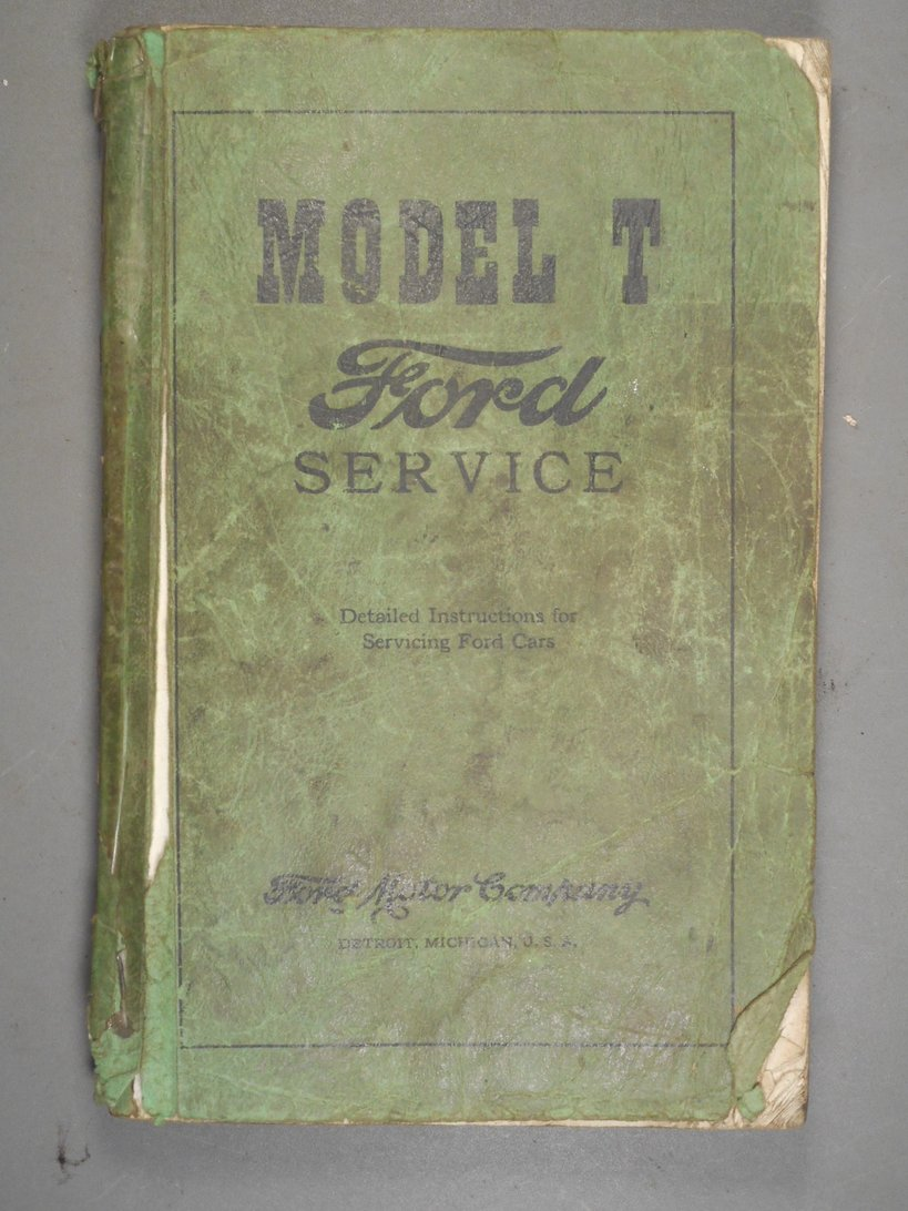 ... of interest on this forum on the Ford Service Manual. Over the years I  have picked up several, and I thought I would share pictures of them with  you.