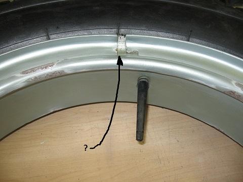 TT wheel rim