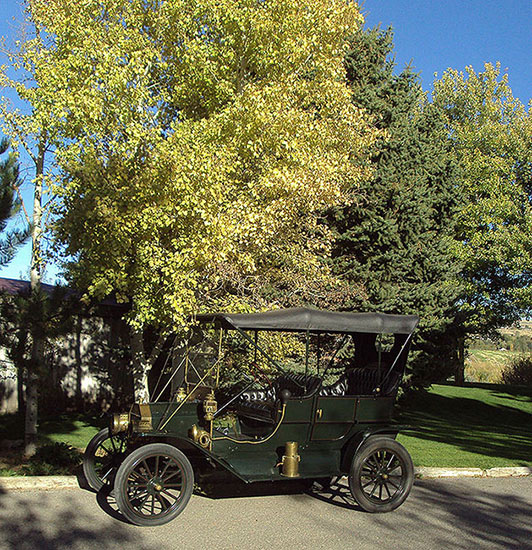 Model T Ford Forum: Fall Colors, A Wedding And A Party After