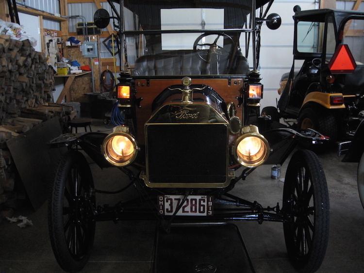Carbide Car Headlights : Model t ford forum gaslight novice