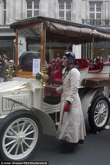 2016 London to Brighton centennial run 1903 White