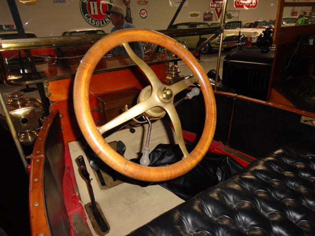 steering wheel - not in starting position