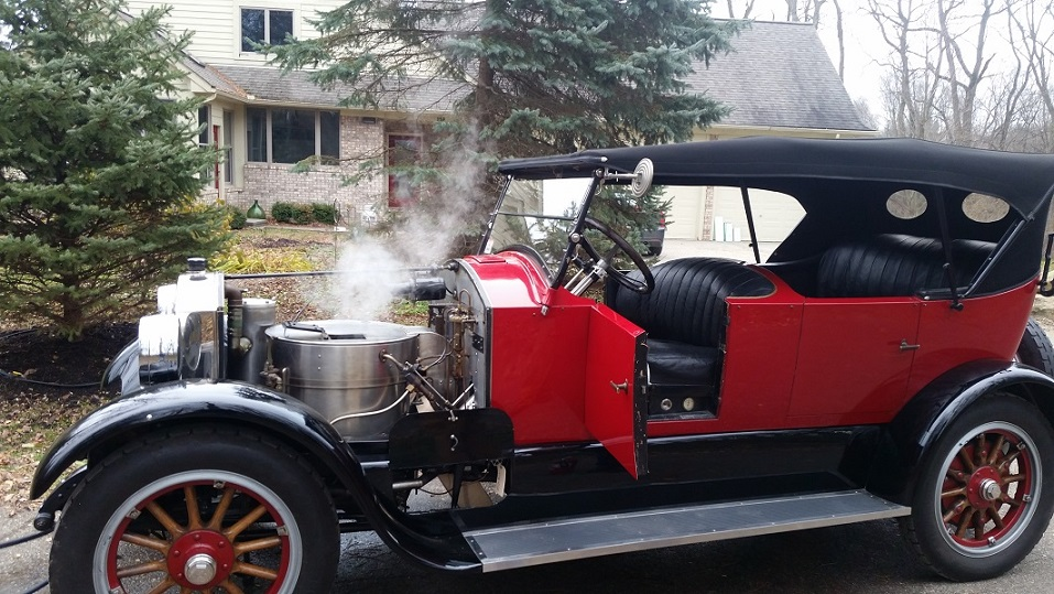 Stanley Steamer Car >> Model T Ford Forum Ot I Drove A Stanley Steamer Today