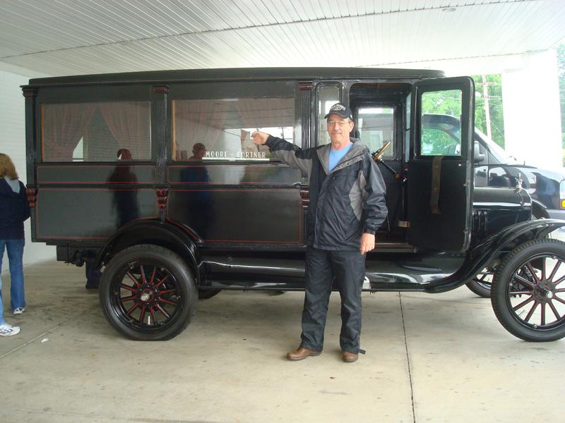Model T Hearse