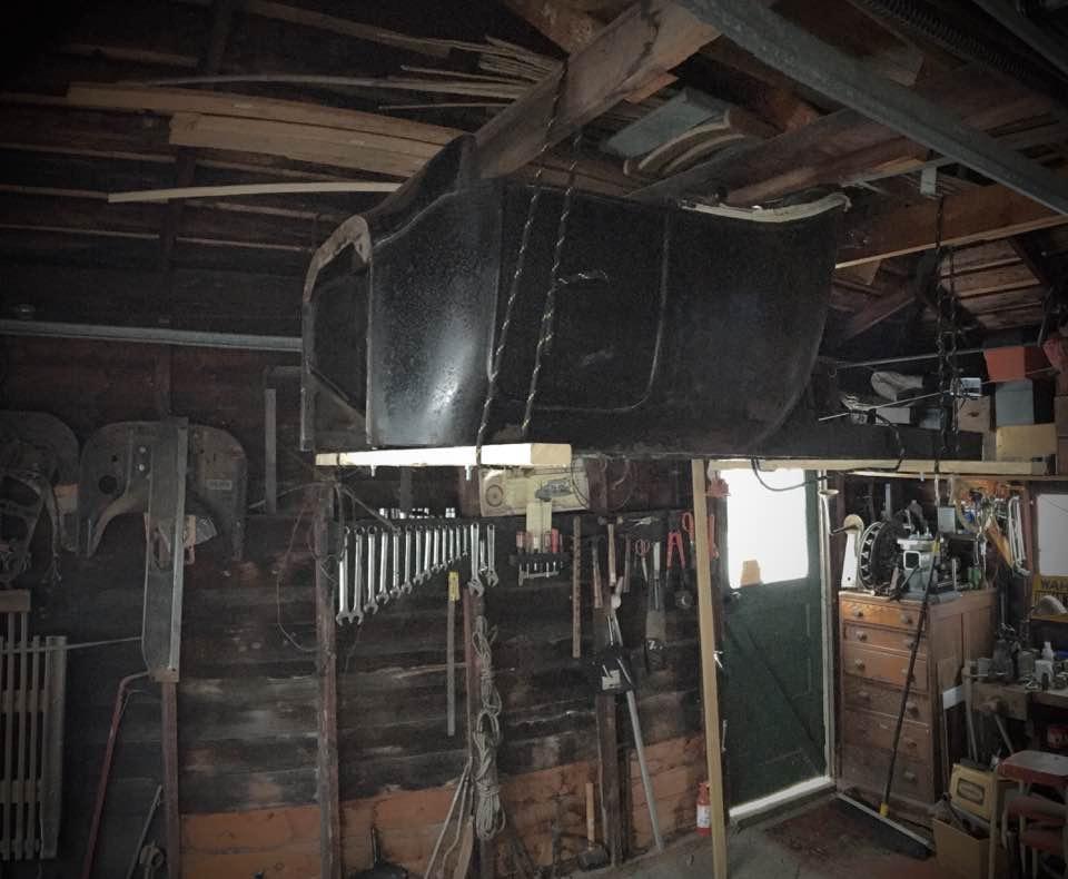Body in garage