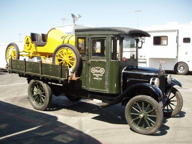 Brand X hauling fast Ford