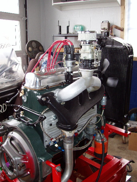 154 Horsepower Miller Schofield Ford Model B Overhead Engine