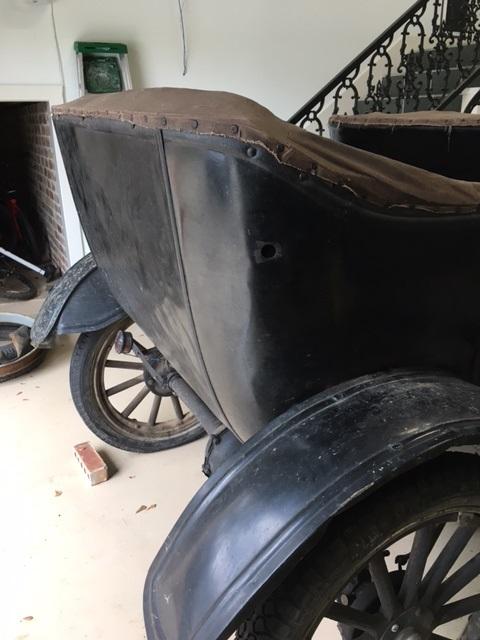 Model T corner