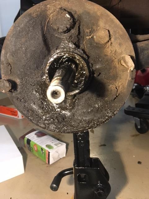 Rear axle 3