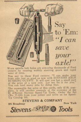 Steven's Advertisement