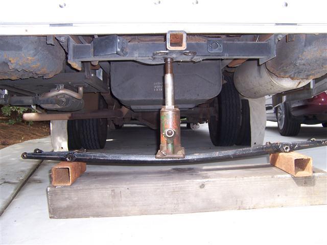 Axle Straightening