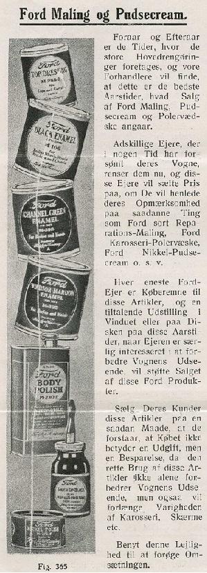 Ford enamel