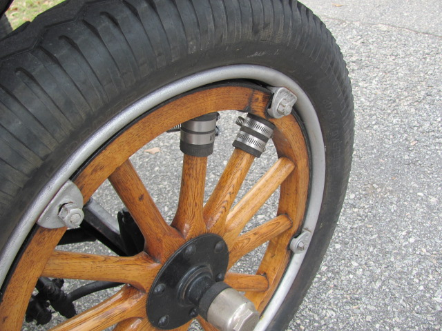 Model T Ford Forum Wood Wheels With Wood Felloes