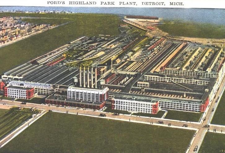 Highland Park aerial