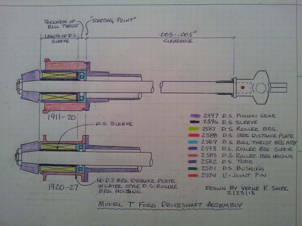 Driveshaft Assembly Drawing