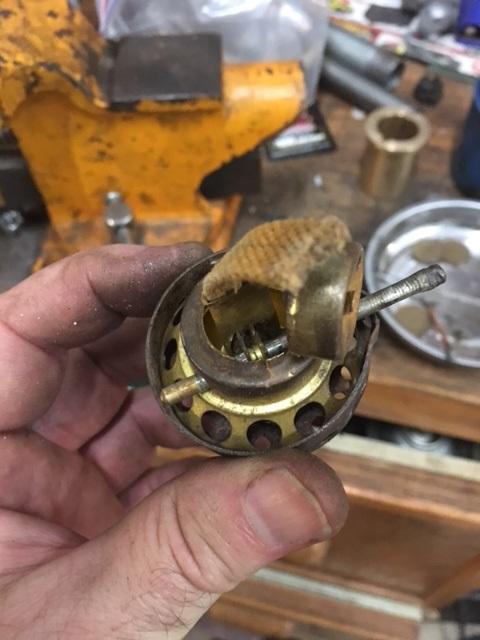 old burner