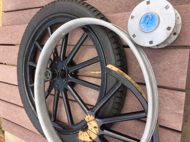 front 15T wheels