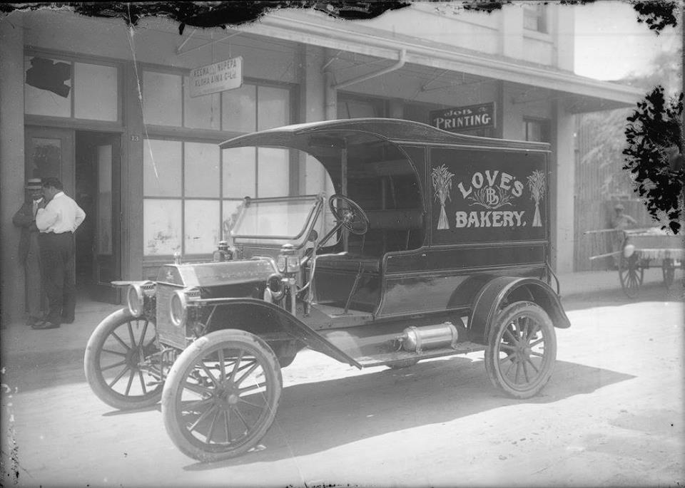 C-cab Model T delivery