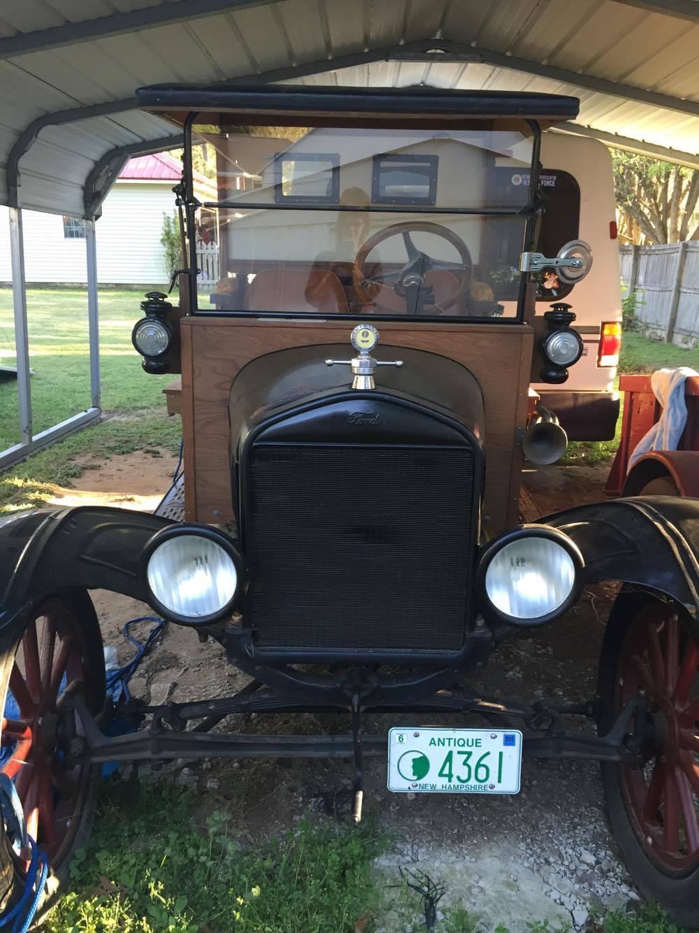 1920 Model T Hardtop PickUp