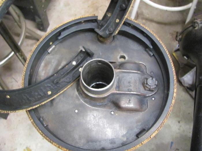 Model T Brake Rivet Tool : Model t ford forum installing brake linings with rivets