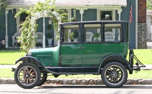 1927 fordoor front