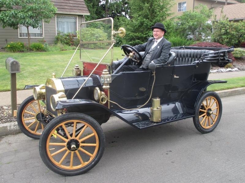1911 Touring c/w foredoors