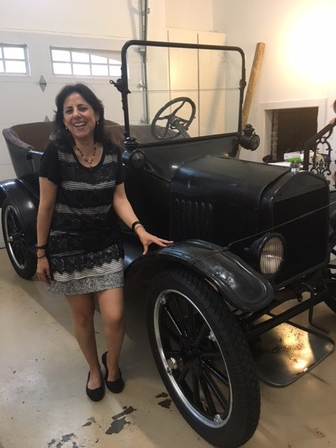 Hot Chick and Model T
