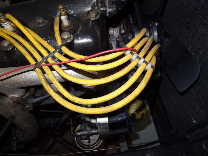 model t ford forum tidy spark plug wires with wire ties. Black Bedroom Furniture Sets. Home Design Ideas