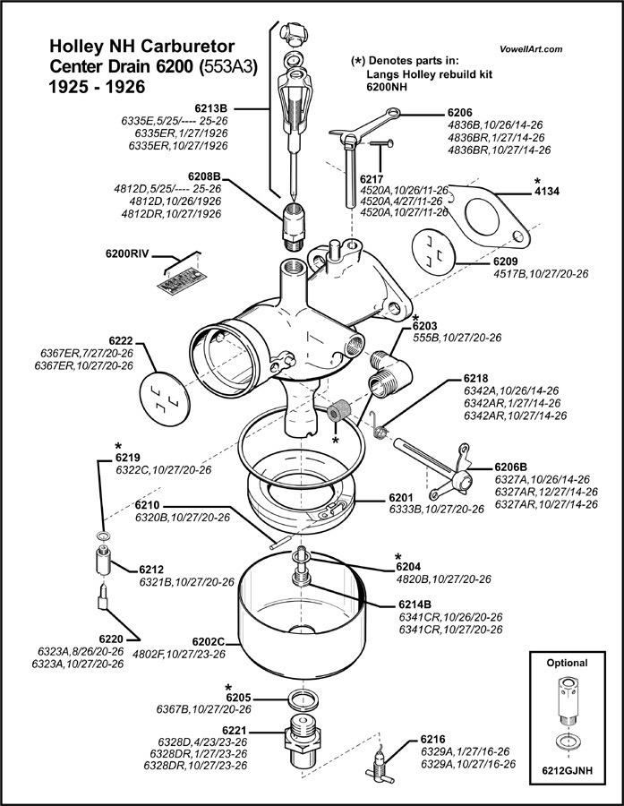 Model T Ford Forum How Do I Install Carburetor Valve Needle Gasket