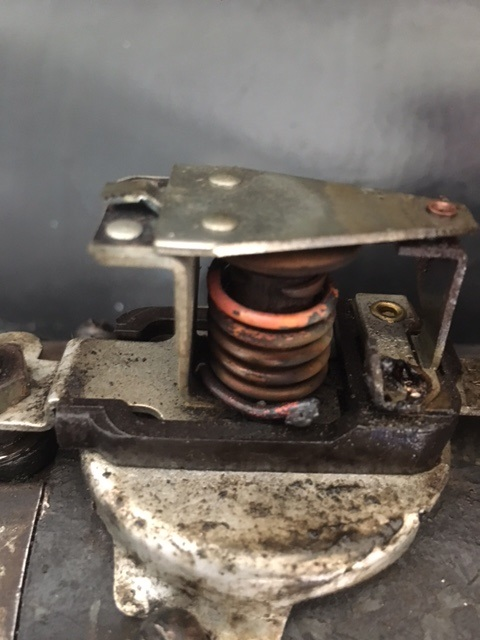 Generator cut out switch.