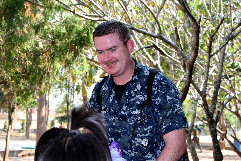 Petty officer kriegel  USS Tortuga