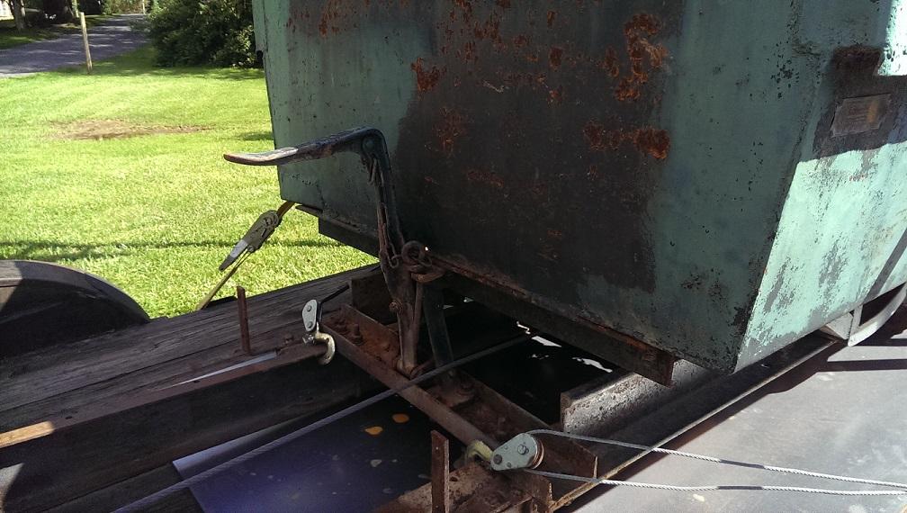 Anthony Autorocker Dump latch