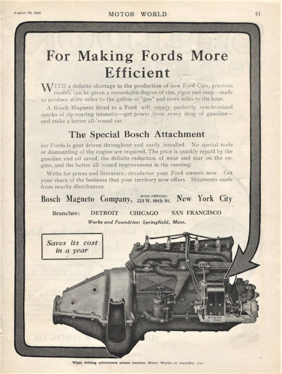Model T Ford Forum: Eisemann magneto drive linkage help