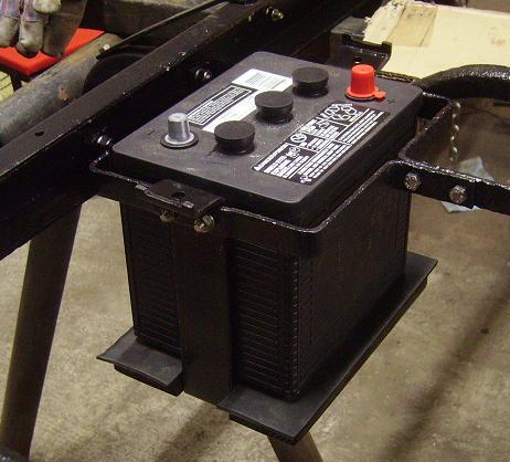 Battery bracket 8