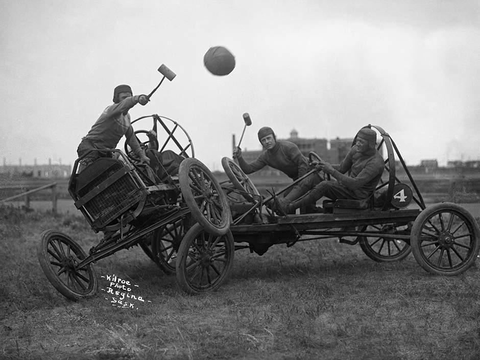 Model T auto polo