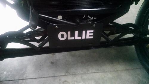 ollie plate