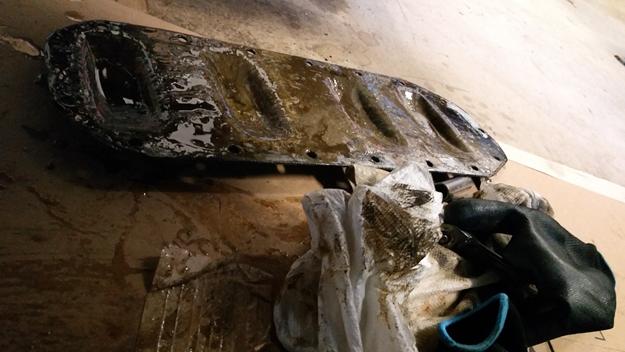 oil pan cover