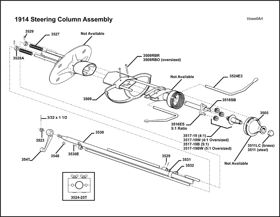 Ford Steering Diagram