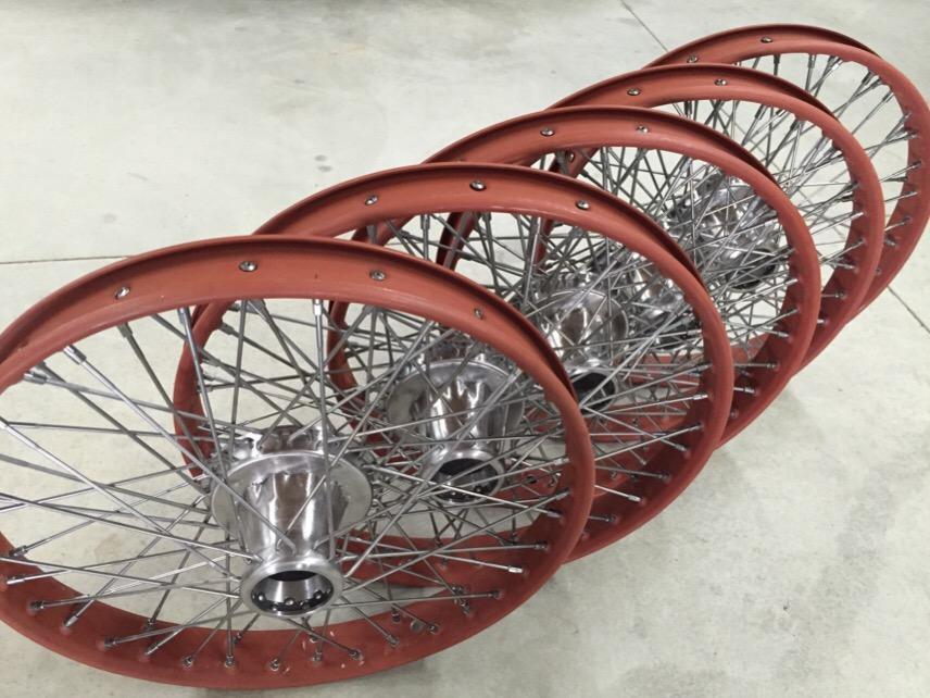 New buffalo wire wheels