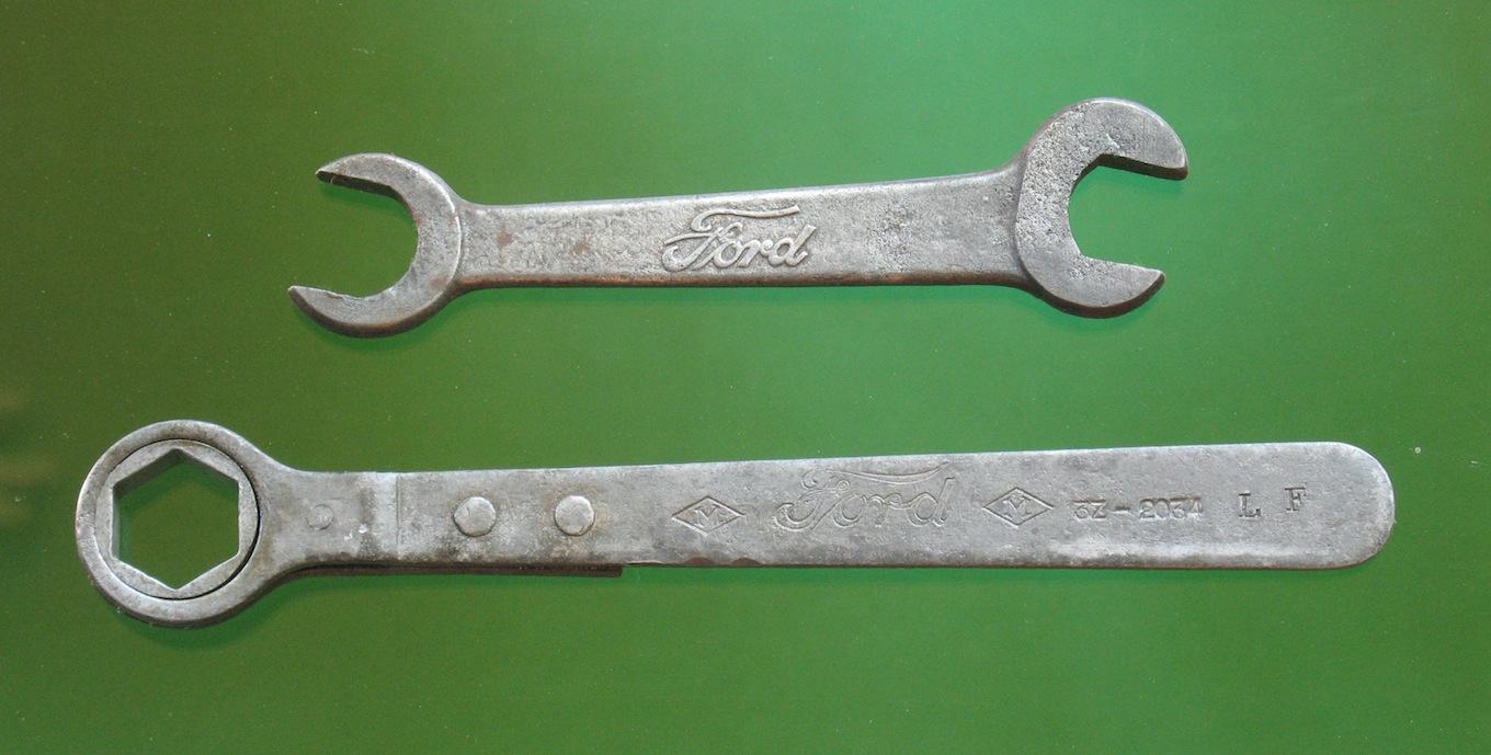 Model T Ford Forum: Small Ford Wrench Sizes
