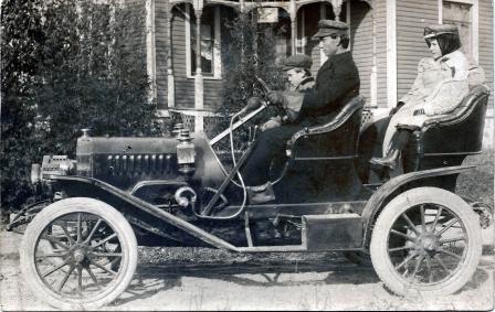 unknown brass car