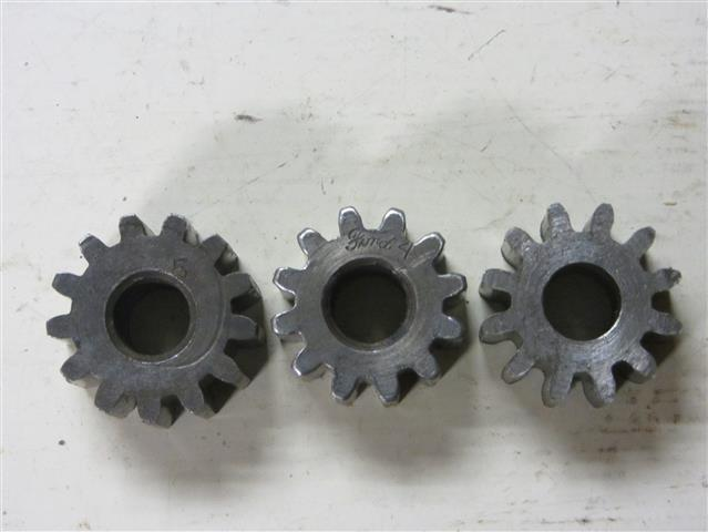 Steering gear shapes
