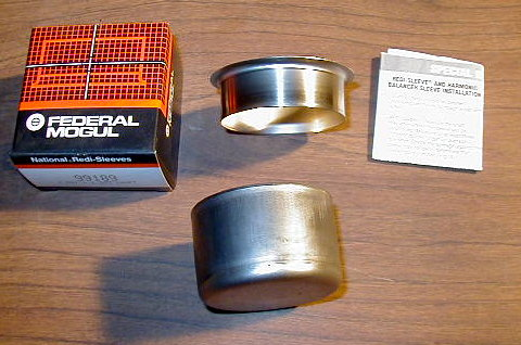 crank seal sleeve for a bad crank surface